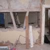 Mitten im Umbau, freigelegtes Fachwerk